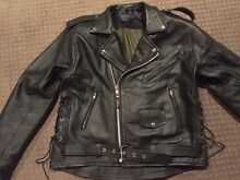 Men's motorcycle riding leather jacket 2XXL Belmont Belmont Area Preview
