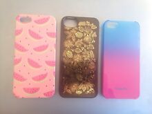 3x iPhone 5 cases Frenchs Forest Warringah Area Preview