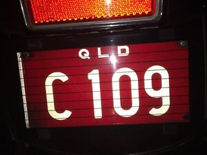 Motorcycle Personalised Plate - Queensland Warner Pine Rivers Area Preview