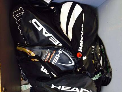 Over 100 Tennis racket Cases Covers Bags