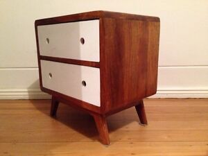 Retro/modern pair of bedside tables Woollahra Eastern Suburbs Preview