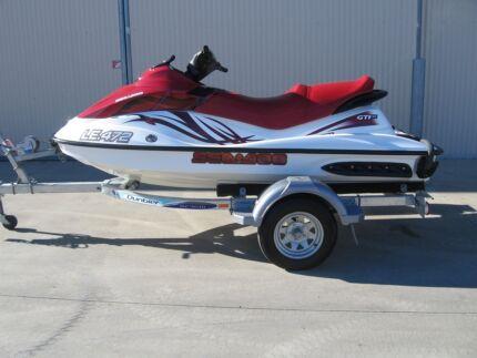 2009 SEA DOO GTI130 JET SKI (228Hours) ROTAX .DUNBIER TRAILER Shepparton 3630 Shepparton City Preview