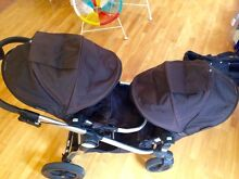 Baby Jogger City Select Double Pram with bassinet and accessories Spotswood Hobsons Bay Area Preview