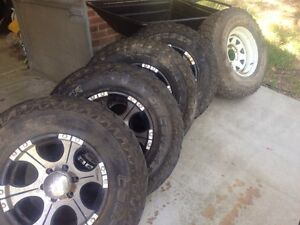 Toyota hilux rims mags dick cepek Mount Victoria Blue Mountains Preview