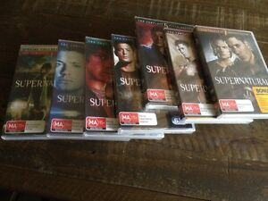 Supernatural series, season 1-7 DVD East Maitland Maitland Area Preview