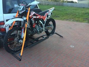 NEW Heavy duty motorcycle rack with ramp - mx or enduro carrier South Morang Whittlesea Area Preview