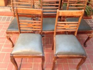 Old Queen Anne chairs $30 the lot Hoppers Crossing Wyndham Area Preview