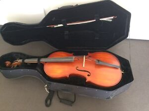 Cello full size 4/4 by Arioso Largs Bay Port Adelaide Area Preview