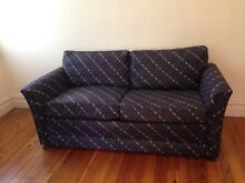 Navy 2.5 Seat Sofa - Excellent Condition Summer Hill Ashfield Area Preview