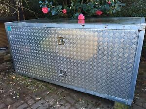 Metal storage box Hornsby Hornsby Area Preview