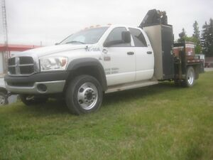 2008 dodge 5500 picker truck