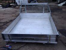 Toyota Hilux dualcab aluminium alloy tray Austral Liverpool Area Preview