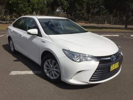 2015 Toyota Camry Atise HYBRID Automatic Traveled 74,238 klm Homebush West Strathfield Area Preview