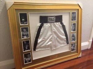 Muhammad Ali - Signed Boxing Trunks Mount Lawley Stirling Area Preview