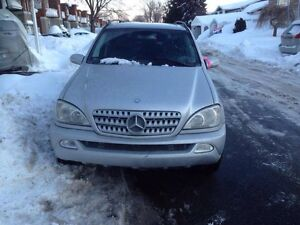 2003 Mercedes-Benz ML-350 4x4