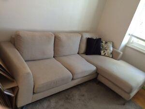 2 seater sofa + chaise Croydon Burwood Area Preview