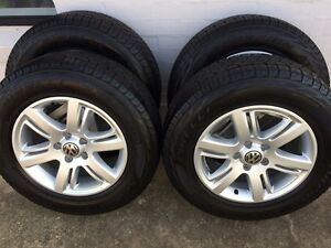 Volkswagen Amarok genuine 17 inch Aldo wheels and tyres Thornlands Redland Area Preview
