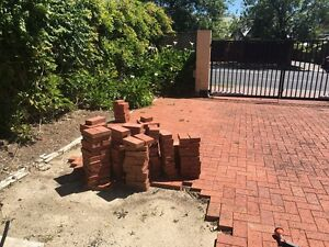Red Brick Pavers (Little Hampton we think) Netherby Mitcham Area Preview