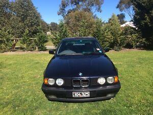 1993 BMW 525i with LPGand Rego! Mornington Mornington Peninsula Preview