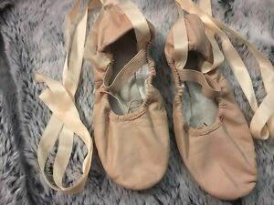 Bloch pink ballet shoes size 5.5 - as New! Croydon Burwood Area Preview