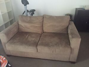 2 seater sofa mocha colour swayde Randwick Eastern Suburbs Preview