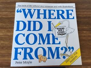 Book - Where Did I Come From Avalon Pittwater Area Preview