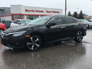 2016 Honda Civic Touring LEATHER, HEATED SEATS, SUNROOF!!!