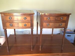 Antique Vintage Louis XVI French Style Side Tables Mascot Rockdale Area Preview