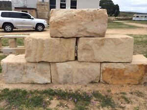 Sandstone retaining wall builders Springwood Logan Area Preview