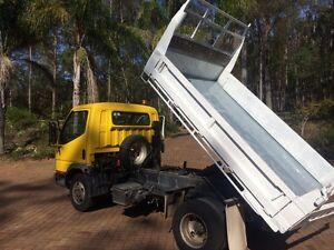 TIPPER MITSUBISHI CANTER FE639 145hp 3.9L Turbo diesel Brookfield Brisbane North West Preview