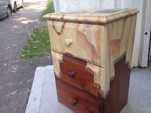 Hand painted chest of drawers Mosman Mosman Area Preview