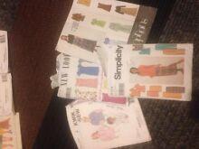 Vintage patterns & books girls men's women patterns Seaford Morphett Vale Area Preview