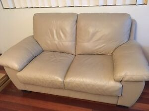Freedom leather 2 seater lounge Enfield Burwood Area Preview