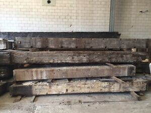 Hardwood Timber Beams Ashfield Ashfield Area Preview