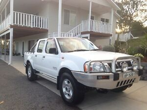 2004 Nissan Navara D22 ST-R 5 speed Manual Dual Cab 3.0 Turbo Diesel Paterson Dungog Area Preview