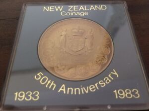 New Zealand coinage 50th anniversary 1983 coin Stafford Heights Brisbane North West Preview