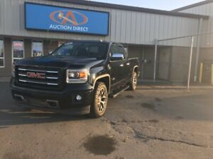 2014 GMC Sierra 1500 SLE 4X4/LEATHER/CLOTH SEATS/BACK UP CAME...