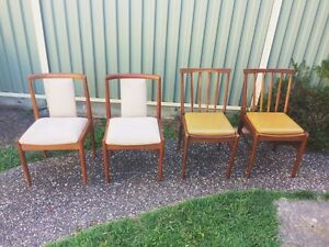 2 sets of mismatched dining chairs Tugun Gold Coast South Preview