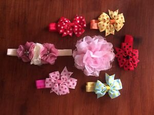 Baby girl head bands. Never used,had all boys Coffs Harbour Coffs Harbour City Preview