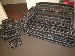 Two seater sofa / couch & matching kids seat Meadowbrook Logan Area Preview