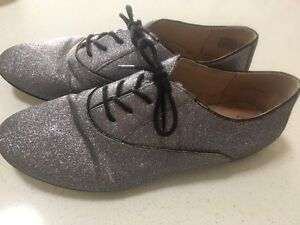 Wittner sparkly silver shoes size 7.5 Indooroopilly Brisbane South West Preview
