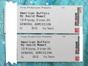 American Buffalo tickets Pacific Pines Gold Coast City Preview