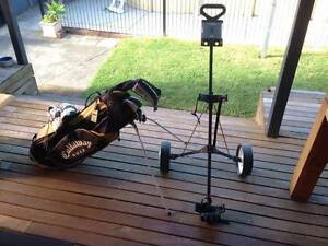 Full Set of Golf Clubs + Bag + Buggy + Shoes Mordialloc Kingston Area Preview