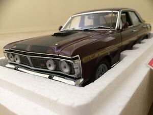 FORD XY GTHO PHASE 3 vintage burgundy biante autoart 1 18 Burnside Melton Area Preview