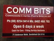 COMMODORE PARTS COMMODORE PARTS VN VP VR VS VT VX VY VZ VE Smithfield Playford Area Preview