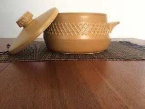 Mid century retro Diana 'Nefertiti' stoneware pot Broadmeadow Newcastle Area Preview
