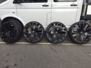 Advanti racing rims and tyres 22 suit from Ve SS Putney Ryde Area Preview