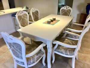 French Dining Table and Chairs Burleigh Heads Gold Coast South Preview