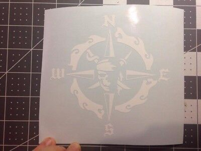Pirate Compass Sticker Decal (Pirate Stickers)