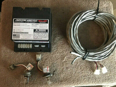 Whelen Csp690 Strobe Power Supply 2 Clear Strobe Lights 2 Cables Used